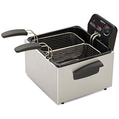 Presto® Dual ProFry Immersion  Element Deep Fryer
