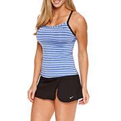 Nike® Stripe Tankini or Solid Swim Skirt
