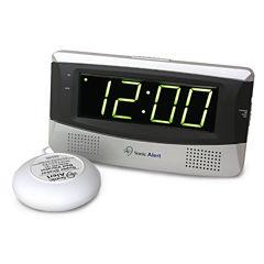 Sonic Alert SA-SB300SS Sonic Boom Alarm Clock with Super Shaker