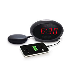 Sonic Alert SA-SBT600SS Sonic Boom Traveler Alarm Clock with Super Shaker