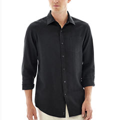 Claiborne® Long-Sleeve Linen Shirt