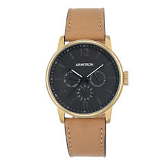 Armitron All Sport Mens Brown Watch Boxed Set-20/5217bkgptn