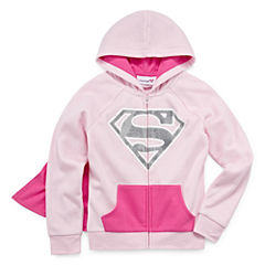 Supergirl Girls Hoodie-Big Kid