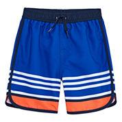 Arizona Boys Stripe Swim Trunks-Toddler