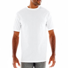 Stafford® 4-pk. Heavyweight Crewneck T-Shirts–Big & Tall