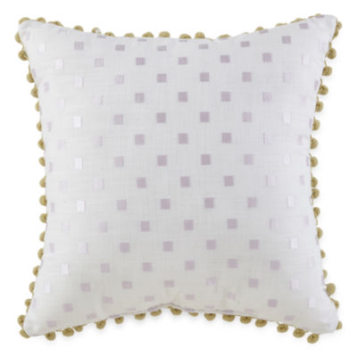 Captivating JCPenney Home™ Watercolor Square Decorative Pillow