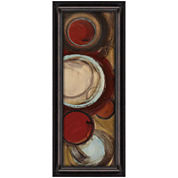 Encircled Abstract Framed Wall Art