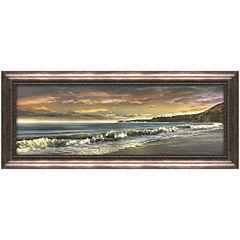 Warm Sunset Framed Wall Art