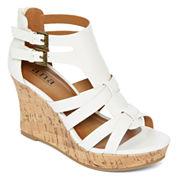 a.n.a® Molly Wedge Sandals