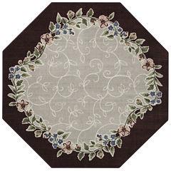 Romantica Washable Octagonal Rug