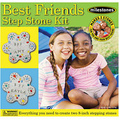 Milestones Best Friends Stepping Stone Kit