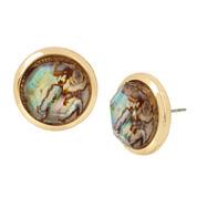 Worthington Abalone Stud Earring