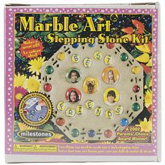 Milestones Marble Art Stepping Stone Kit