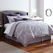 Royal Velvet® 4-pc. Crescent Comforter Set