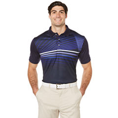 PGA TOUR Short Sleeve Stripe Polo Shirt