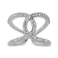 Sparkle Allure White Cocktail Ring