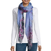 Mixit Cherry Blossom Oblong Scarf