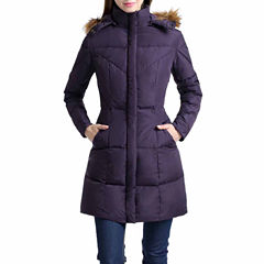 Elisa Water Resistant Down Parka Coat