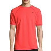 Nike Solid Short Sleeve Swim Tee