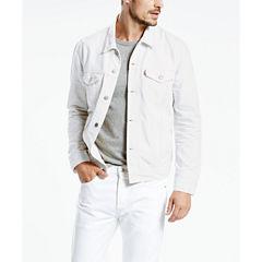 Levi's® White Denim Trucker