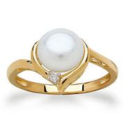 Sofia Womens Pearl 10K Gold