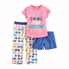 Carter'S Girls 3Pc Poly Sleep