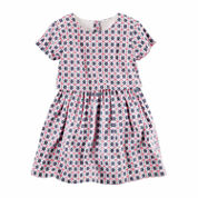 Carter's Girls Multi Stripe Dress