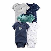 Carter's Boys 5-pc. Bodysuit Set-Baby