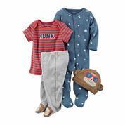 Carter's 4-pc. Pant Set Baby Boys