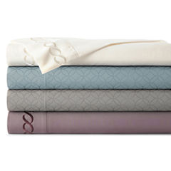 JCPenney Home™  Luxe Embossed or Embroidered Microfiber Sheet Sets