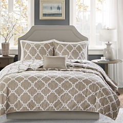 Madison Park Diablo 4-pc. Coverlet Set