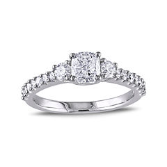 1 1/5 CT. T.W. Diamond 14K White Gold Ring