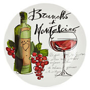 JCPenney Home™ Wine Cellar Round Serving Platter