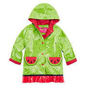Wippette Watermelon Rain Jacket - Preschool Girls 4-6x