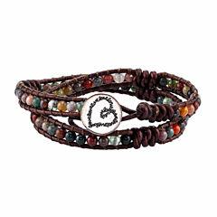 Footnotes Multi Color Wrap Bracelet
