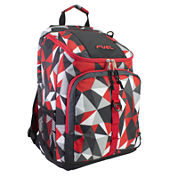 Fuel® Top Loader Red Geo Backpack