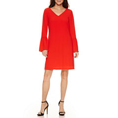 Worthington Bell Sleeve Shift Dress