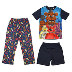 3-pc. Five Nights at Freddy's Pajama Set-Boys