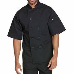 Dickies Unisex Short Sleeve 10 Button Chef Coat - Big