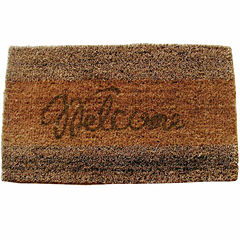 Seagrass Welcome Rectangle Doormat - 18