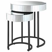 Krystal 2-pc. Round  Nesting Tables