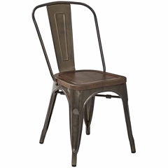 Indio Metal & Wood 2-pc. Side Chair