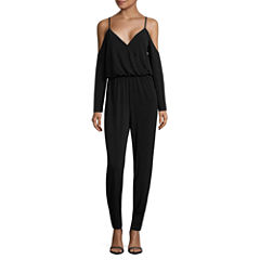 Nicole By Nicole Miller Long Sleeve Jumpsuit
