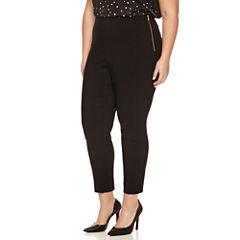 Worthington® Side Zip Slim Pants - Plus