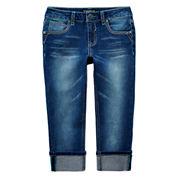 Vigoss® Cropped Jeans - Girls 7-14