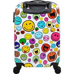 Smiley World Celebration 22 Inch Hardside Luggage
