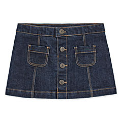 Arizona Girls Denim Scooter Skirt