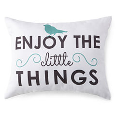 JCPenney Home™ Enjoy The Little Things Decorative Pillow