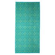 Outdoor Oasis Mosaic Tile Jacquard Beach Towel
