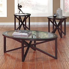 Signature Design by Ashley ® Sleffine Occasional Table Set